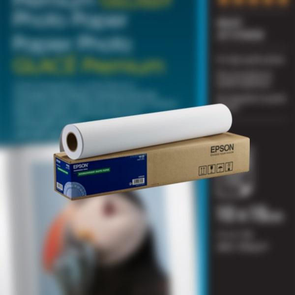 Singleweigth Matte Paper (rollo 24″) 610mmx40m