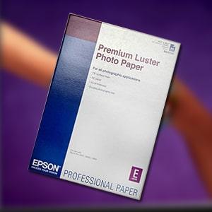 Premium Luster photo paper, din a4
