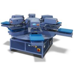 Prensa Termica Carrusel Neumatica Automatica Transmatic CA 10004