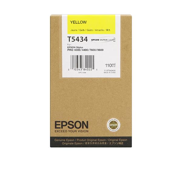 Tinta EPSON Amarillo 110 m